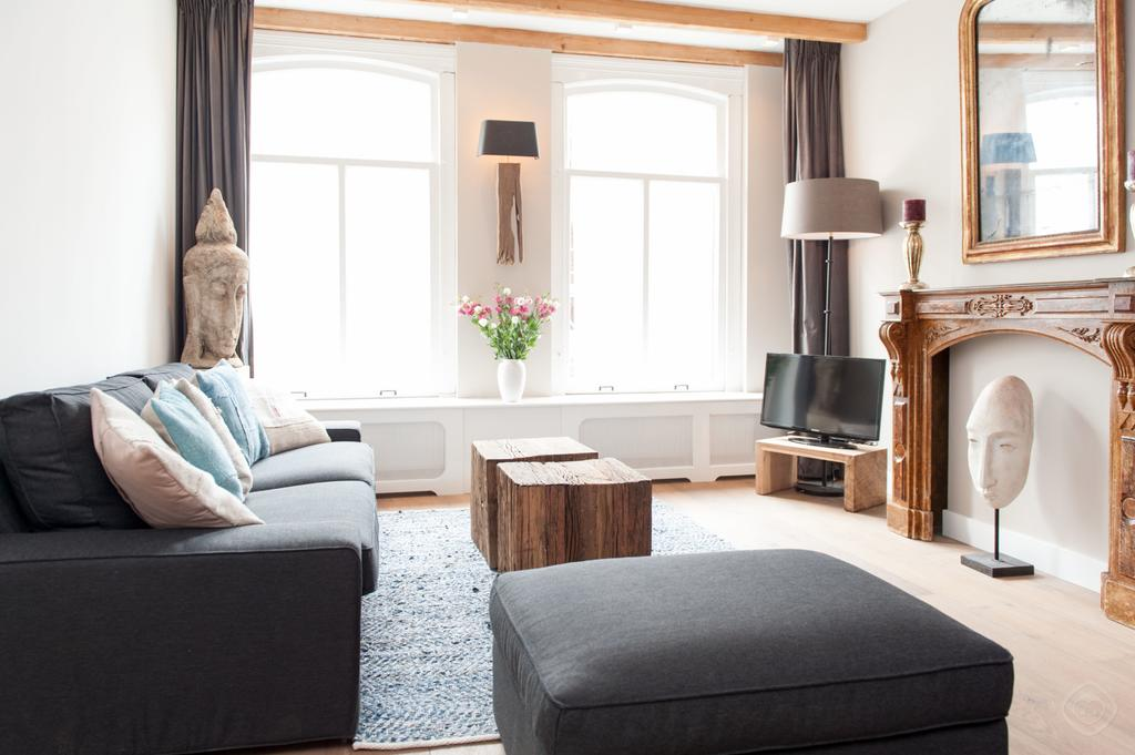 DE PIJD LUXURY 2 BEDROOMS AMSTERDAM - Luxe Apartments Rentals