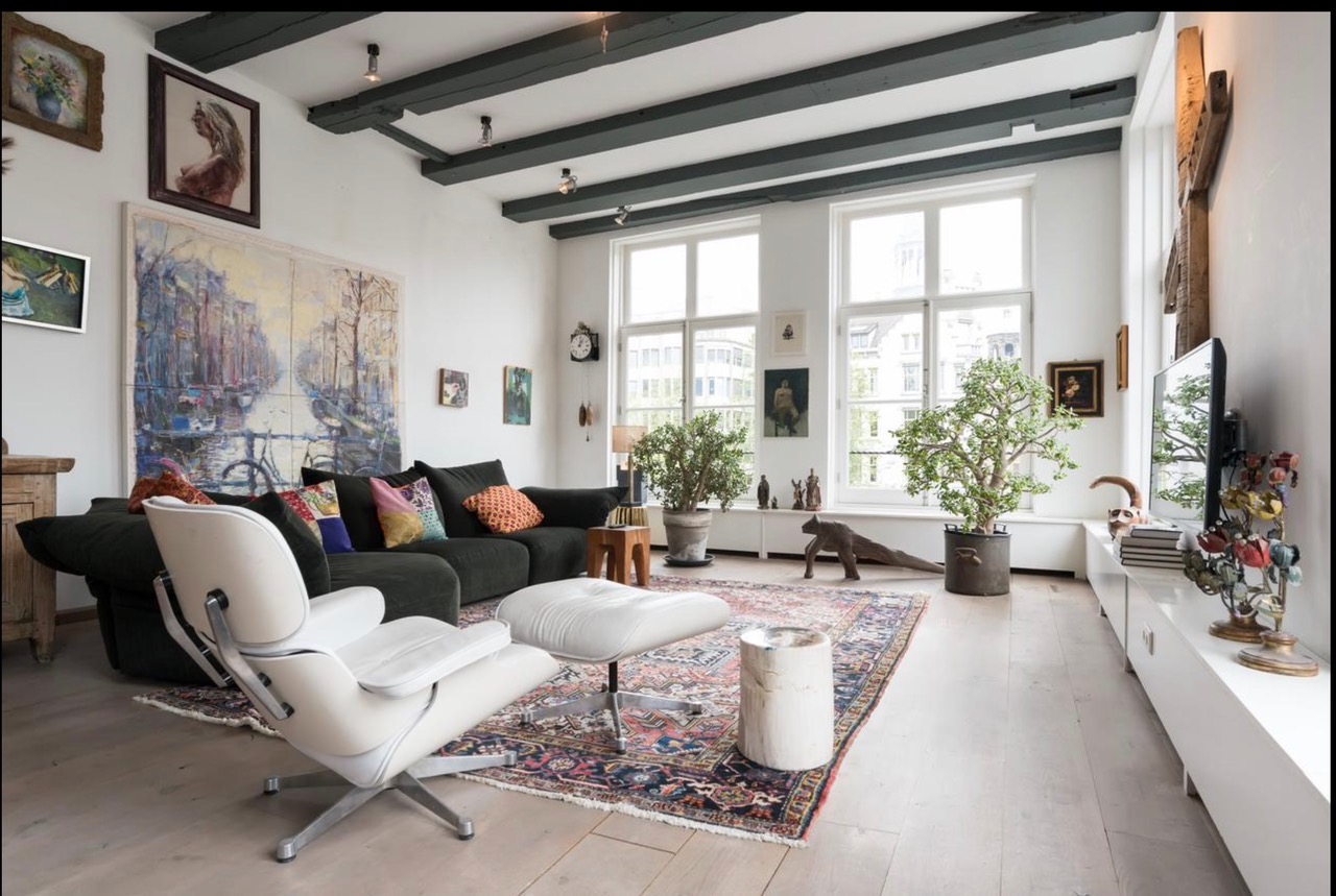 LUXURY PENTHOUSE LOFT CENTER CANAL VIEW ON SINGEL CANAL