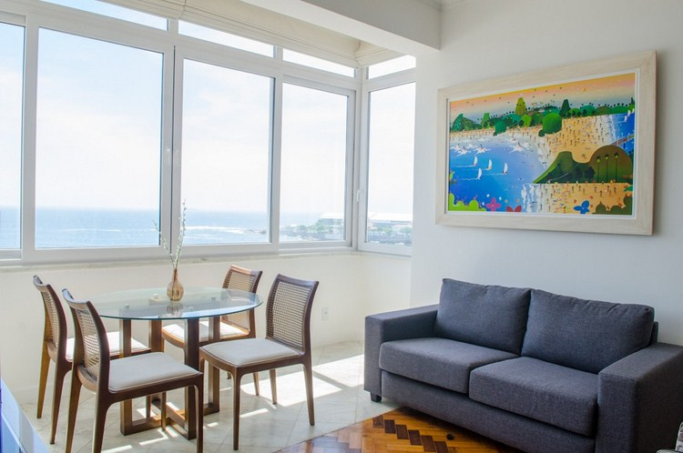 2 BEDROOM WITH OCEAN VIEW IN COPACABANA
