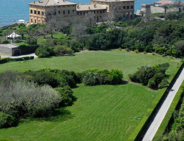 On the seafront and the doorstep of Rome, an opulent Estate Italy-4919