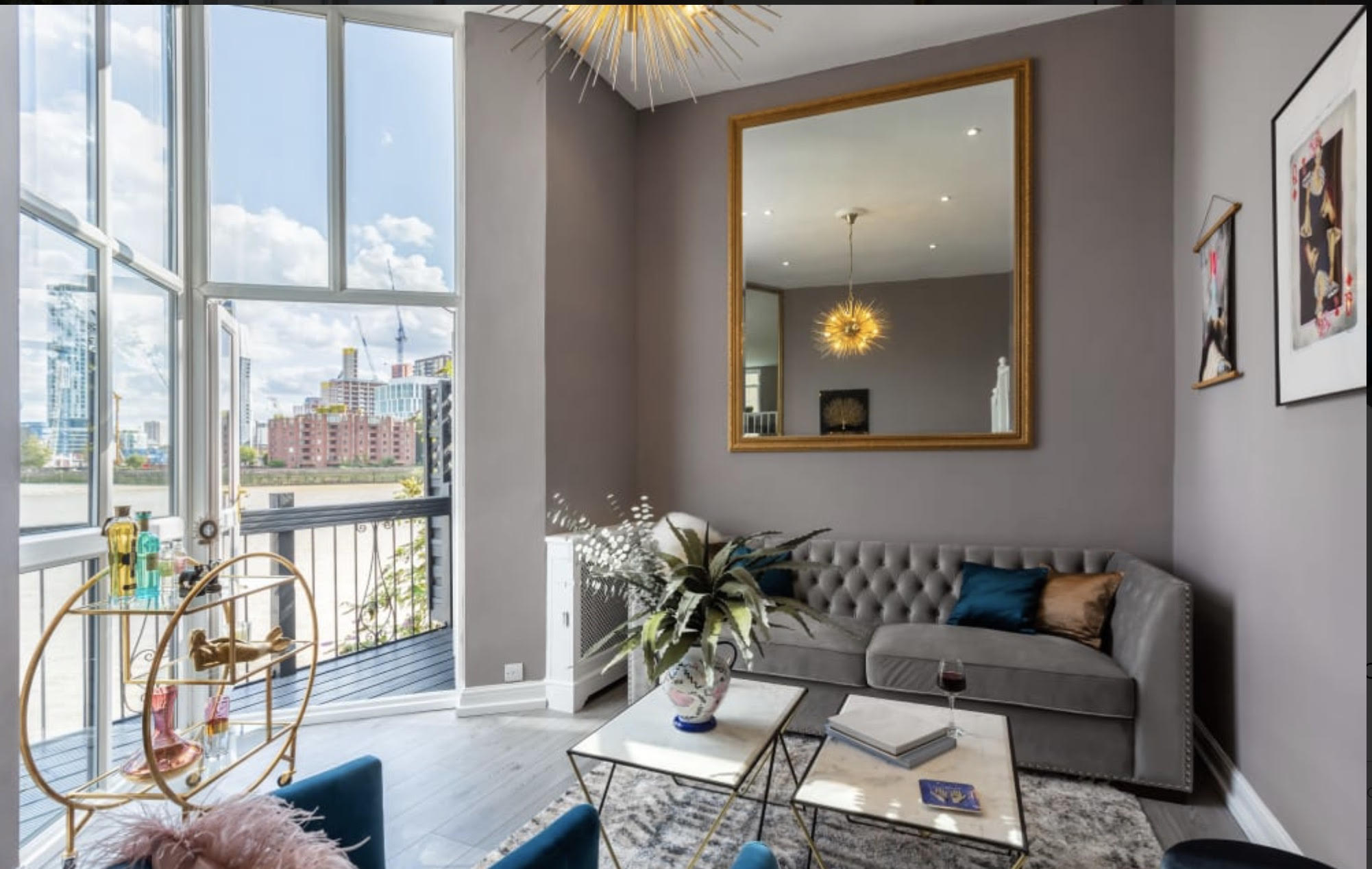 PIMLICO TERRACE AND VIEW LONDON