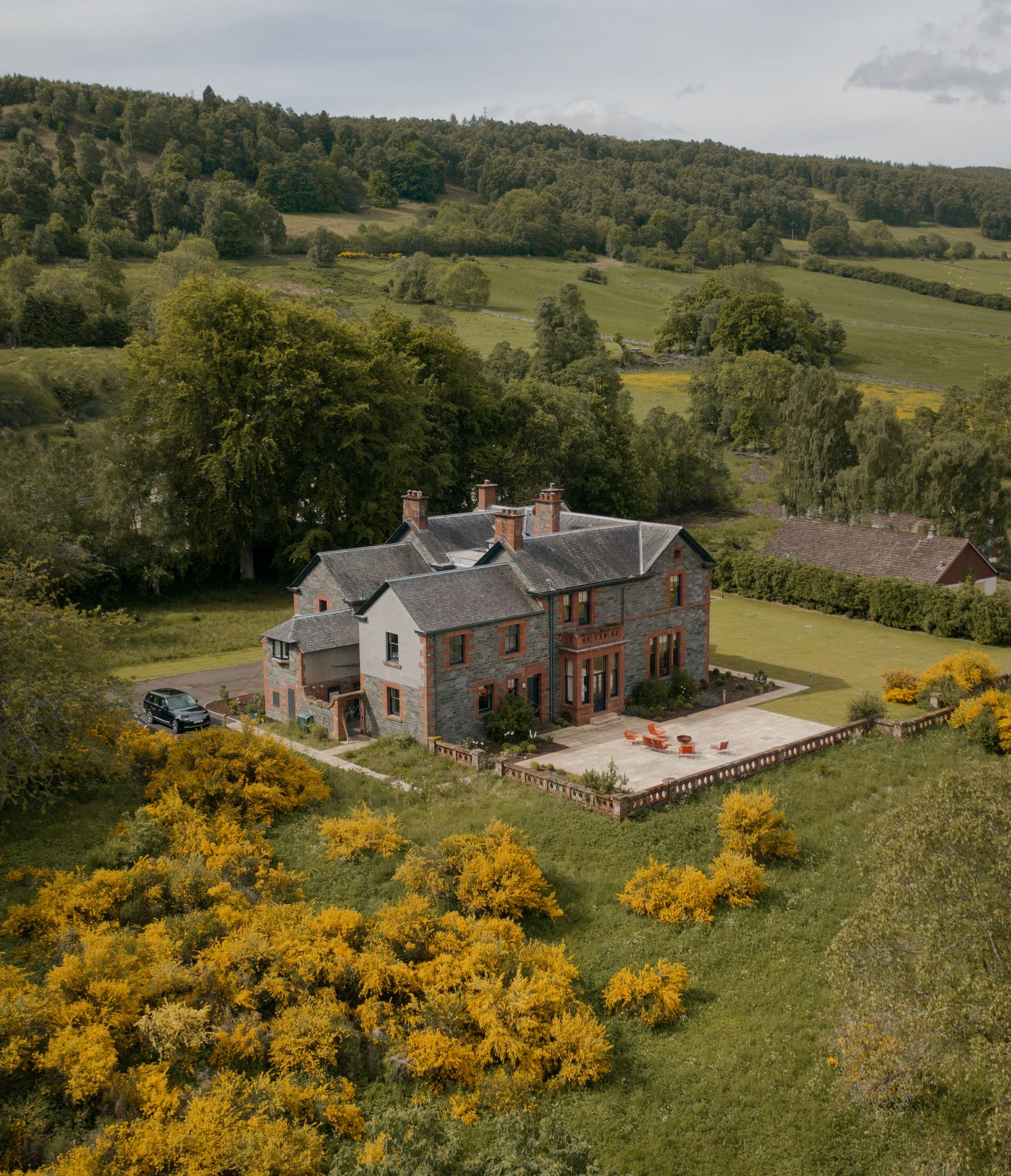 LUXURY CASTLE PERTHSHIRE***** LUXE