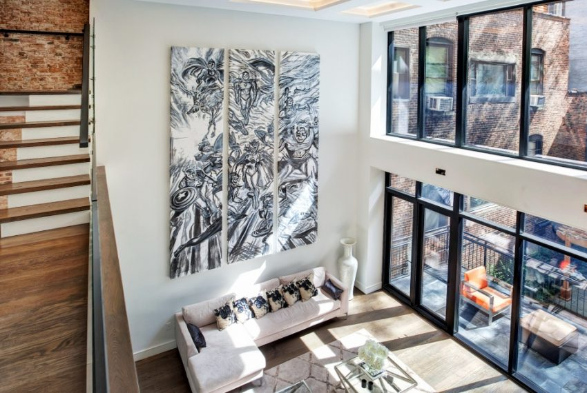 00004-luxe-apartmentsrentals-5-Bedroom-townhouse-in-Hells-Kitchen-NYC